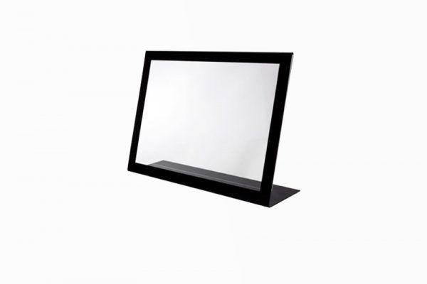 display marco metacrilato