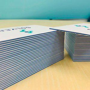 tarjetas gruesas