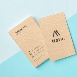 tarjetas ecológicas