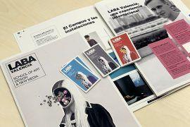 catalogos y tarjetas LABA